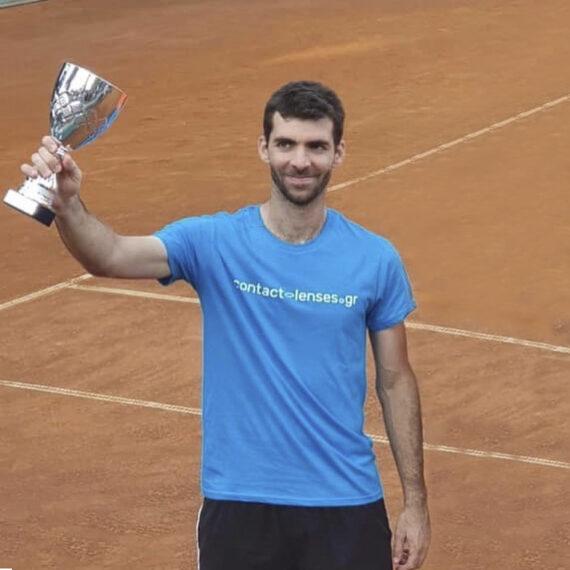 Πρωταθλητής Τέννις - Χάρης Καπόγιαννης