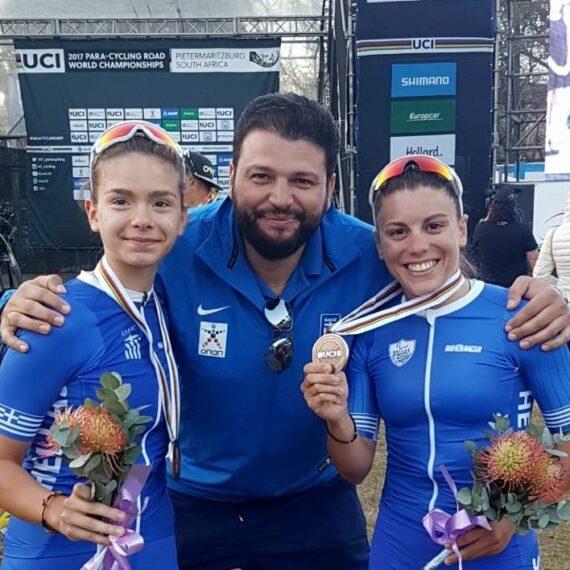 Πρωταθλήτριες ποδηλασίας tanem - Ελένη Καλαντζή & Ηρώ Μηλάκη